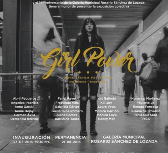 Girl Power: análisis y propuestas sobre la participación de las artistas enQuerétaro